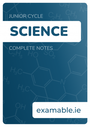Junior Cycle Science Notes Cover