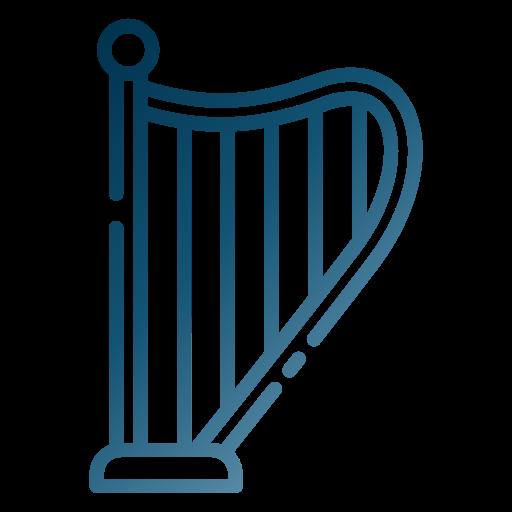 An Irish Harp