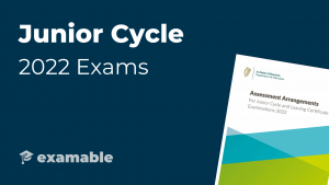 Junior Cycle 2022 Changes to Exam Cover Image